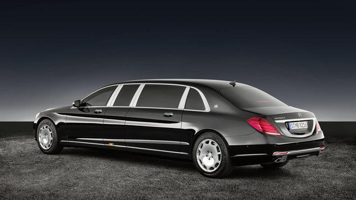 Mercedes-Maybach S600 Pullman Guard - Chiếc limousine chống đạn siêu sang - 2