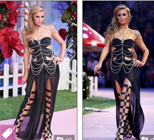 Ái nữ tỷ phú Paris Hilton lộ dáng thô khi làm người mẫu - 4