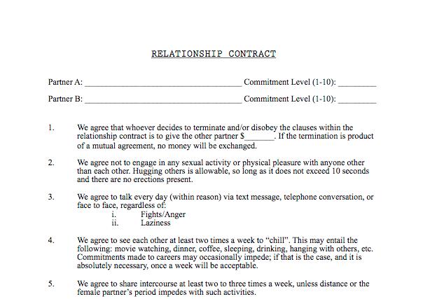 """Xu hướng kí """"hợp đồng quan hệ"""" của các cặp đôi Mỹ - 2"""