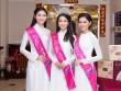 HH Đỗ Mỹ Linh khoe sắc rạng ngời cùng Á hậu Thanh Tú, Thùy Dung tại Queen Plaza