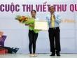 Việt Nam giành giải nhất thi viết thư quốc tế UPU
