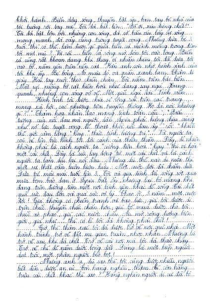 Đọc bản viết tay bức thư hay nhất thế giới của nữ sinh Hải Dương - 2