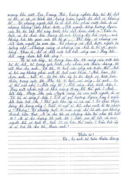 Đọc bản viết tay bức thư hay nhất thế giới của nữ sinh Hải Dương - 3