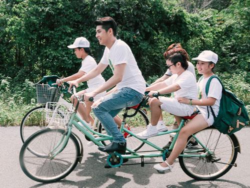 Noo Phước Thịnh cùng học trò quay MV bảo vệ môi trường - 2