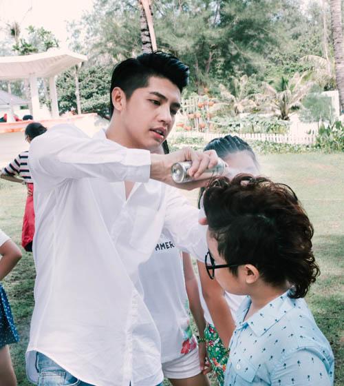 Noo Phước Thịnh cùng học trò quay MV bảo vệ môi trường - 4