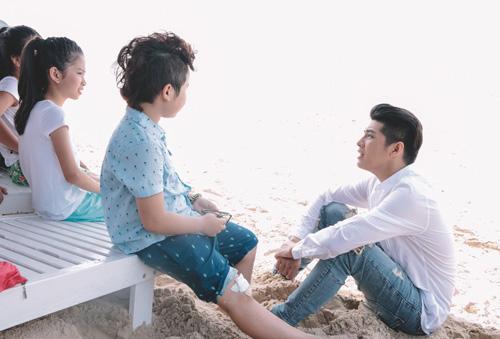 Noo Phước Thịnh cùng học trò quay MV bảo vệ môi trường - 5