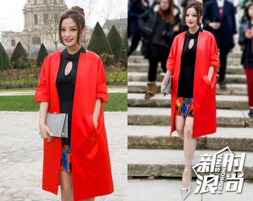 Gu ăn mặc của Triệu Vy ngày càng được cải thiện - 3
