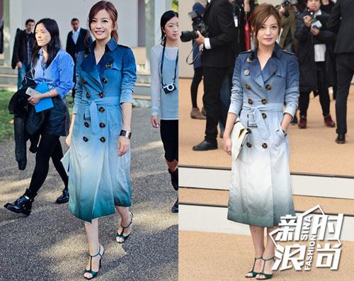 Gu ăn mặc của Triệu Vy ngày càng được cải thiện - 4