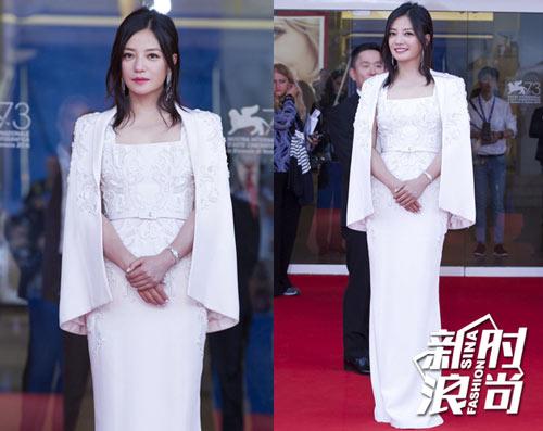 Gu ăn mặc của Triệu Vy ngày càng được cải thiện - 6