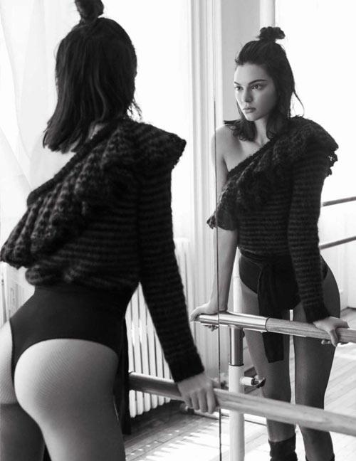 Kendall hóa vũ công ba lê kiêu kỳ trên Vogue - 6