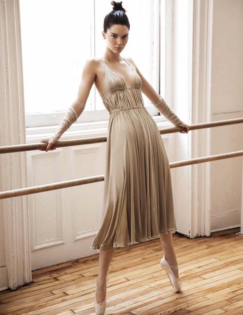 Kendall hóa vũ công ba lê kiêu kỳ trên Vogue - 2