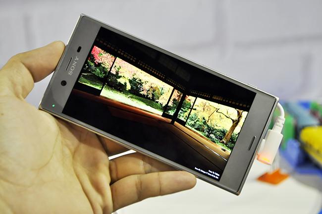 Sony Xperia XZ hỗ trợ quay phim 4K.