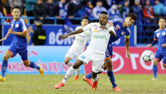 Than Quảng Ninh - HN.T&T: Tưng bừng 8 bàn thắng - 1