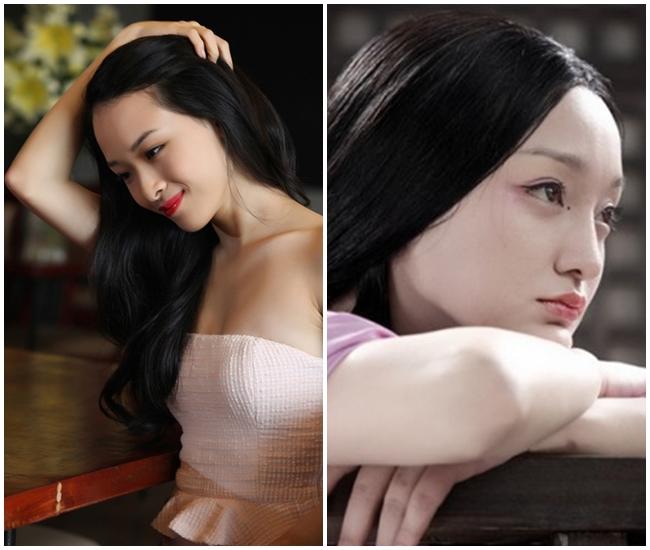 Ngỡ ngàng vì Hoa hậu Phương Nga giống hệt Châu Tấn - 4