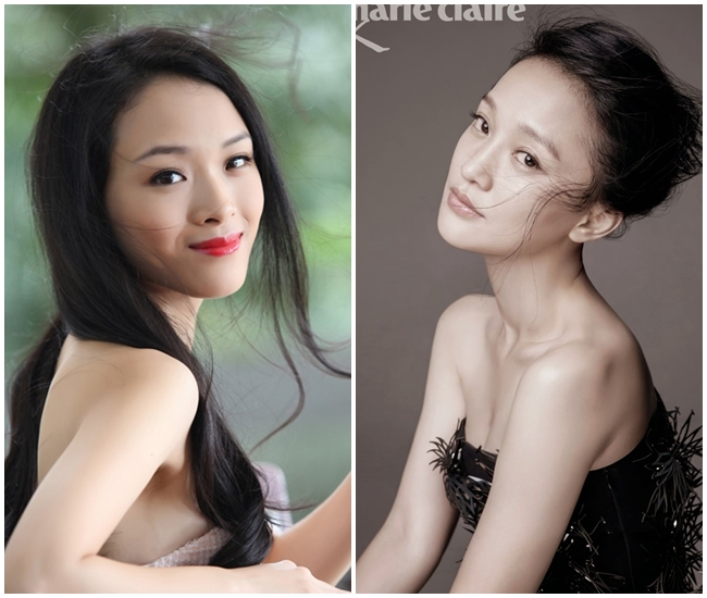 Ngỡ ngàng vì Hoa hậu Phương Nga giống hệt Châu Tấn - 9