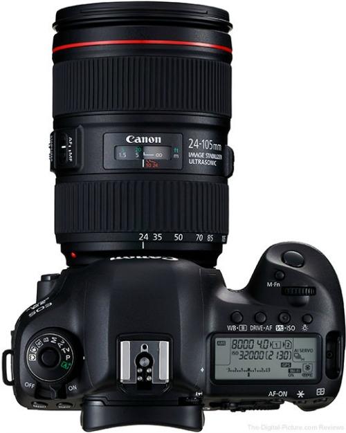 """Canon EOS 5D Mark IV: cấu hình mạnh, giá """"ngon"""" - 7"""