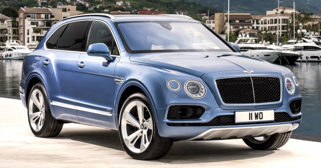 Bentley Bentayga Diesel -  SUV diesel nhanh nhất thế giới - 1