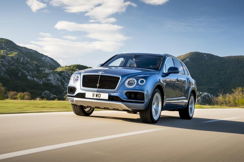 Bentley Bentayga Diesel -  SUV diesel nhanh nhất thế giới - 3