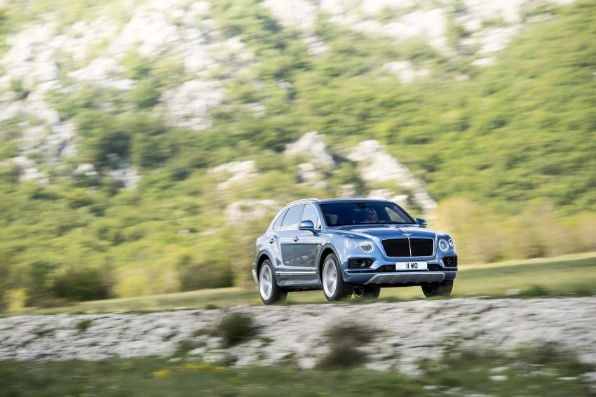 Bentley Bentayga Diesel -  SUV diesel nhanh nhất thế giới - 4