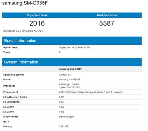 Samsung Galaxy S7 Edge đã được chạy thử nghiệm Android 7.0 - 1