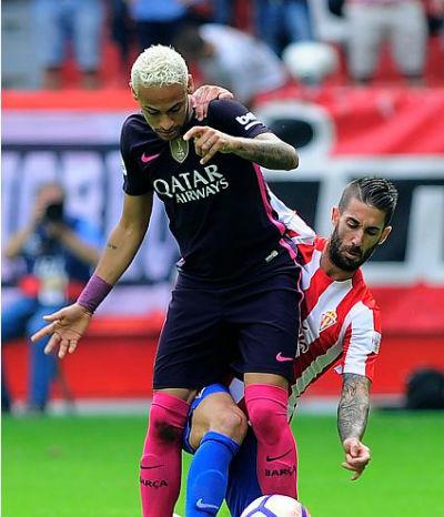 Chi tiết Sporting Gijon – Barcelona: Bùng nổ cuối trận (KT) - 3