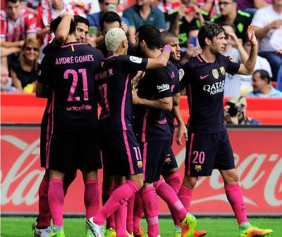 Chi tiết Sporting Gijon – Barcelona: Bùng nổ cuối trận (KT) - 5