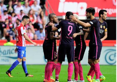 Chi tiết Sporting Gijon – Barcelona: Bùng nổ cuối trận (KT) - 6