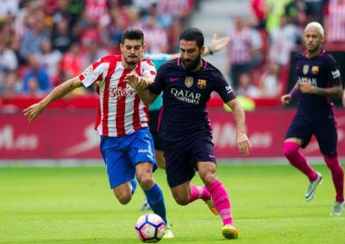 Sporting Gijon - Barcelona: Thị uy sức mạnh - 1