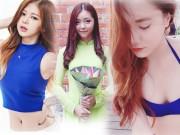 """Bạn trẻ - Cuộc sống - Vẻ đẹp """"hút mắt"""" của ba cô gái khiến ca sĩ Hàn kinh ngạc"""