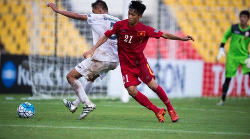 Hữu Thắng lọt tốp 8 cầu thủ đáng xem nhất tứ kết U16 châu Á - 1
