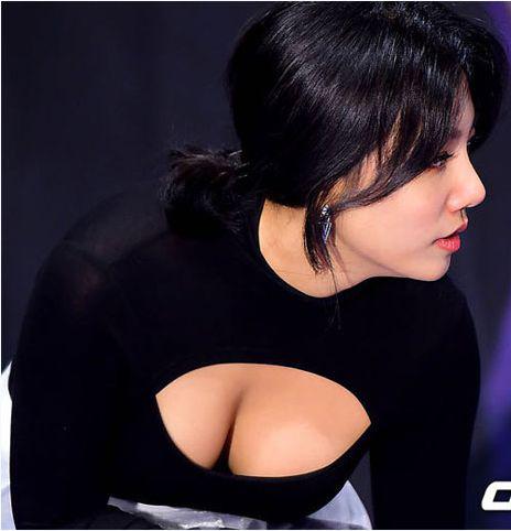 6 người đẹp Hàn bạo gan khoe vòng 1 trước ống kính - 1