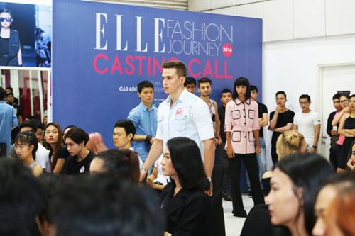 Bộ 3 mẫu Tây điển trai dự tuyển Elle show Việt Nam - 4