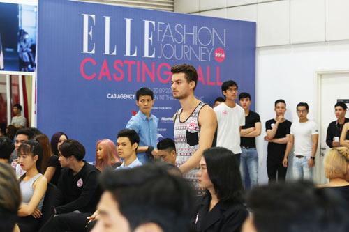 Bộ 3 mẫu Tây điển trai dự tuyển Elle show Việt Nam - 5