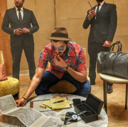 """""""Tròn mắt"""" cuộc sống ngập tiền của con nhà giàu Dubai - 5"""