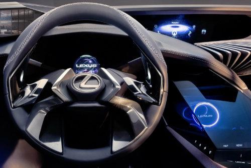 Lexus UX concept có nội thất ba chiều cực chất - 1