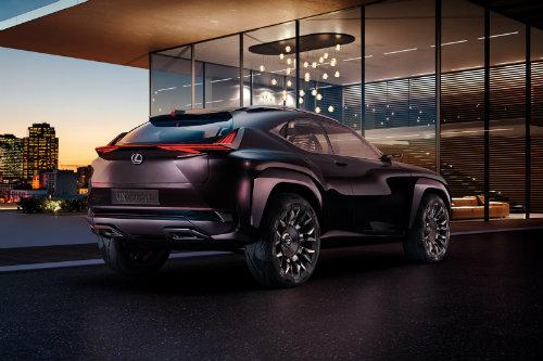 Lexus UX concept có nội thất ba chiều cực chất - 2