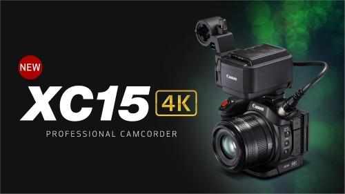 Canon cho ra mắt máy ảnh XC15 hỗ trợ quay video 4K UHD - 1