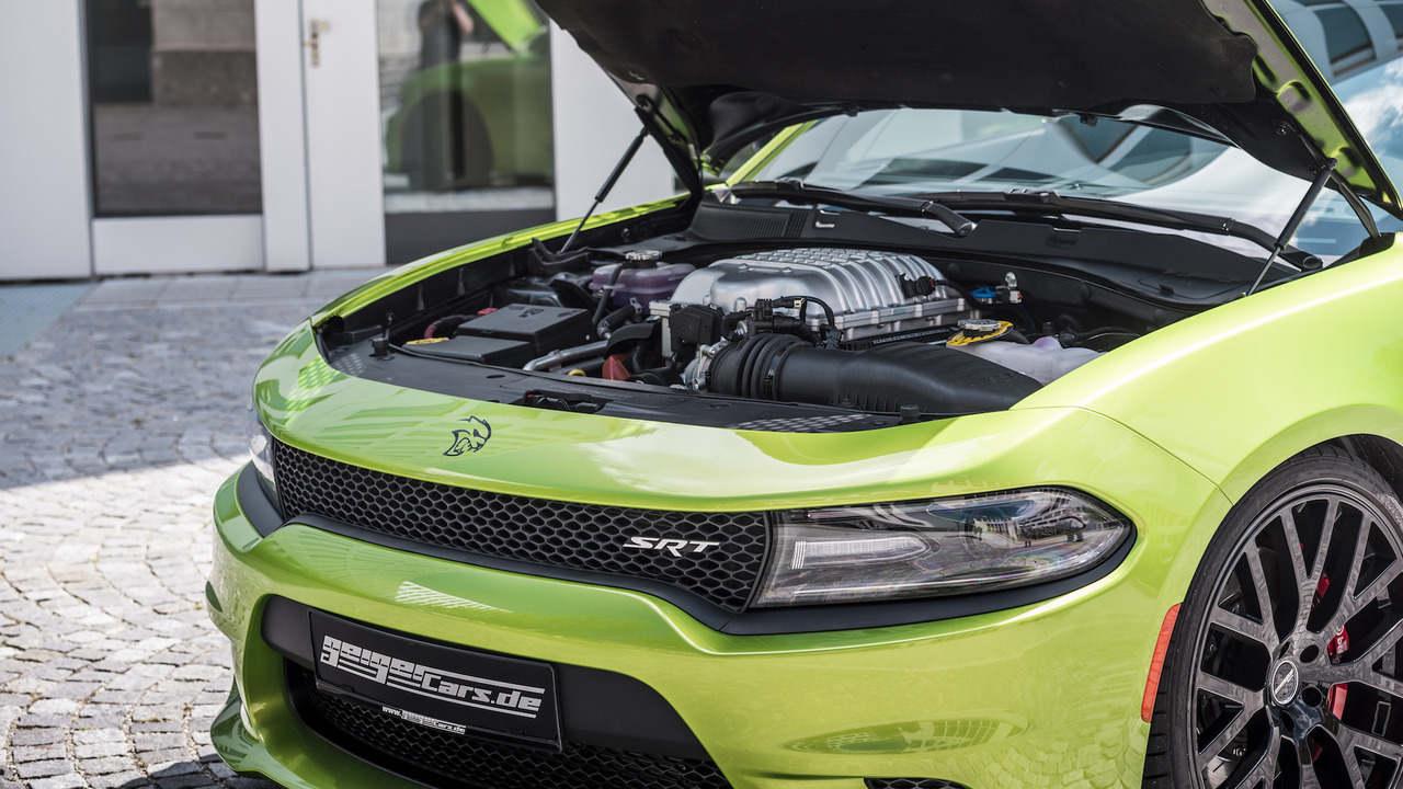 Dodge Charger Hellcat phiên bản độ, công suất 782 mã lực - 4
