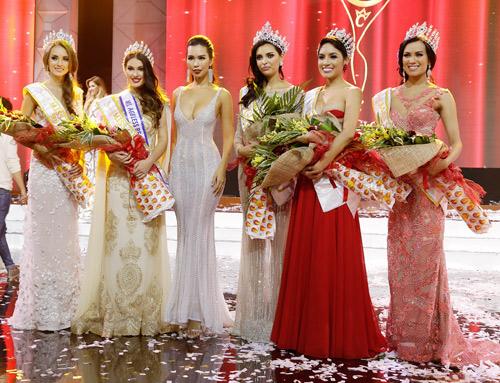 """Hà Anh """"nóng bỏng tay"""" khi làm giám khảo Miss Global - 7"""