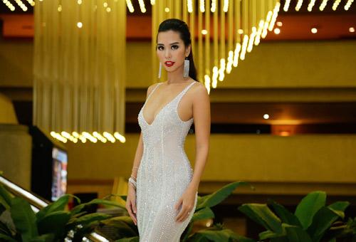"""Hà Anh """"nóng bỏng tay"""" khi làm giám khảo Miss Global - 2"""
