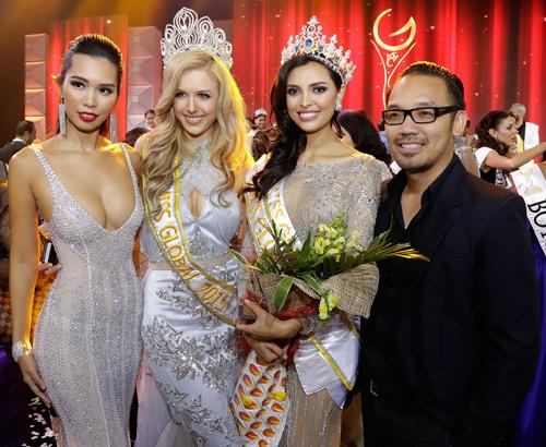 """Hà Anh """"nóng bỏng tay"""" khi làm giám khảo Miss Global - 5"""