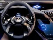 Lexus UX concept có nội thất ba chiều cực chất