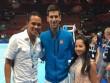Djokovic tặng quà đặc biệt cho tiền đạo Milan