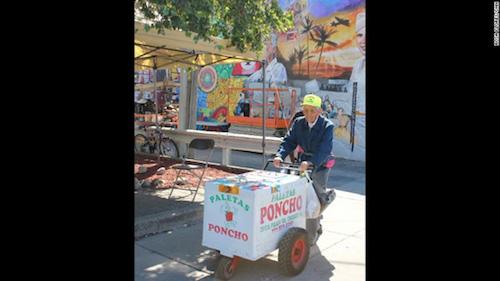 """Cụ ông 89 tuổi bán kem dạo """"đổi đời"""" nhờ Internet - 3"""