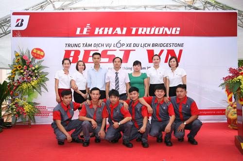Bridgestone chính thức khai trương trung tâm dịch vụ chăm sóc lốp xe du lịch tại Bắc Ninh - 4