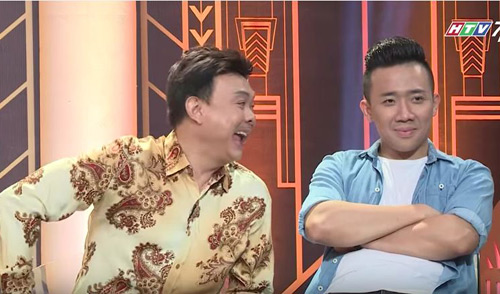 """Trường Giang """"đá xoáy"""" Trấn Thành trên sóng truyền hình - 4"""