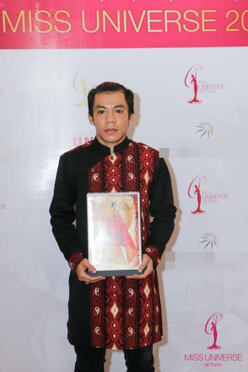 Phạm Hương chọn quốc phục cho đại diện VN ở HH Hoàn vũ - 9