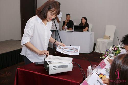 Phạm Hương chọn quốc phục cho đại diện VN ở HH Hoàn vũ - 5