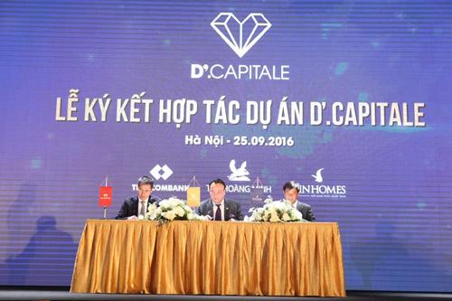 Tân Hoàng Minh, Vingroup, Techcombank hợp tác triển khai dự án D'.Capitale - 3