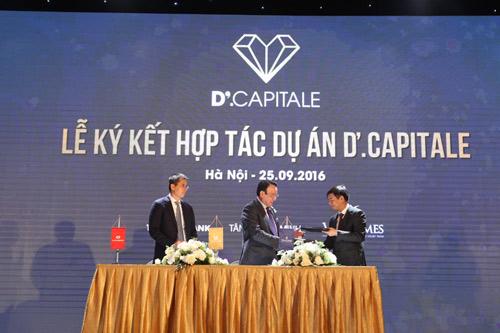 Tân Hoàng Minh, Vingroup, Techcombank hợp tác triển khai dự án D'.Capitale - 4
